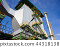 Electrostatic precipitator at biomass power plant 44318138