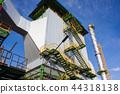 Electrostatic precipitator at biomass power plant 44318138