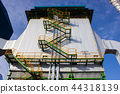Electrostatic precipitator at biomass power plant 44318139