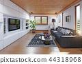 modern cottage  interior. 44318968