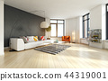 modern interior apartment 44319001
