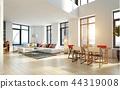 modern  apartment  interior. 44319008