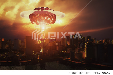 nuclear explosion 44319023