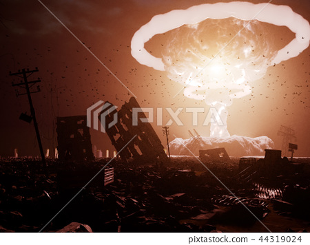 nuclear explosion 44319024