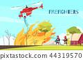 Fighting Wild Fire Background 44319570