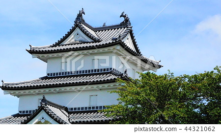 Shibata castle which drained water of moat 44321062
