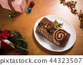 圣诞蛋糕 44323507
