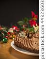 圣诞蛋糕 44323603
