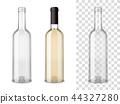 Wine Blass Bottles Set 44327280