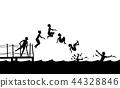 boy jumping 44328846