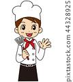 餐厅员工 44328925