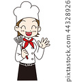 餐厅员工 44328926
