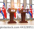 North Korea and South Korea   partnership  44328951