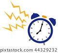 矢量 钟表 时钟 44329232