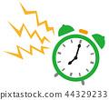 矢量 钟表 时钟 44329233