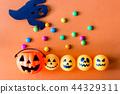 bucket, halloween, jack 44329311