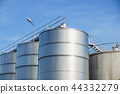Industrial silos for chemical production, by stainless steel 44332279