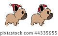 개, 강아지, 벡터 44335955