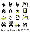 Beginner farmer have basic chicken egg farming.  44336172