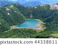 햇빛 츠 白 根 山에서 본 고시 키 누마 44338611