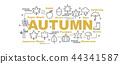 autumn vector banner 44341587