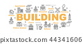 building vector banner 44341606