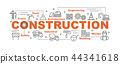 construction vector banner 44341618