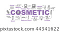 cosmetic vector banner 44341622