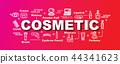 cosmetic vector trendy banner 44341623