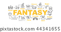 fantasy vector banner 44341655