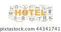 hotel vector banner 44341741