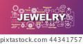 jewelry vector trendy banner 44341757