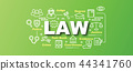 law vector trendy banner 44341760