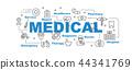 medical vector banner 44341769