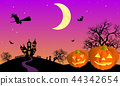 萬聖夜圖像例證03 44342654