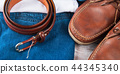 Man's clothes and leather accessories 44345340