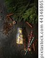 Christmas lights in bottle 44346865
