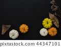 Table top view Thanksgiving day background. 44347101