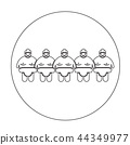 Sumo wrestling People Icon 44349977