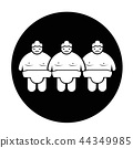 Sumo wrestling People Icon 44349985