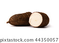 Tapioca root on white background isolated 44350057