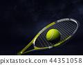 racquet 3d tennis 44351058