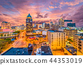 Milwaukee, WIsconsin Skyline 44353019