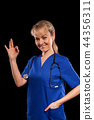 doctor, nurse, woman 44356311
