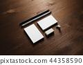 Branding stationery set 44358590