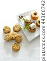 Canapes, party food / canape, party food 44360742