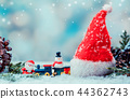 Merry Christmas and Happy New Year, winter season 44362743