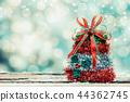 Merry Christmas and Happy New Year, winter season 44362745