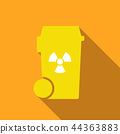 bin with chemicals symbol 44363883
