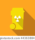 bin with chemicals symbol 44363884
